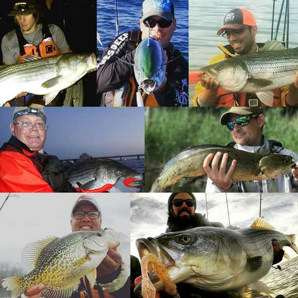 Three belles outfitters fishing team hunting fishing show for Hunting and fishing show
